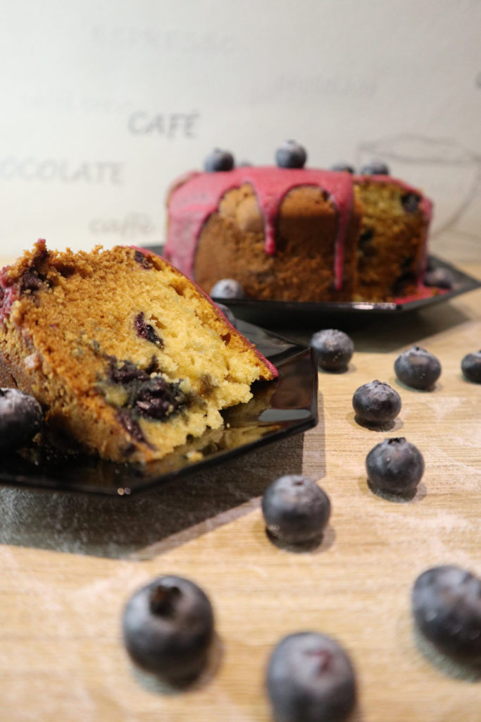 Blaubeer-Rührkuchen - Schnell gemacht und super lecker