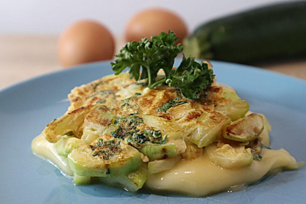 Zucchini-Käse-Omelett | Histaminhexe