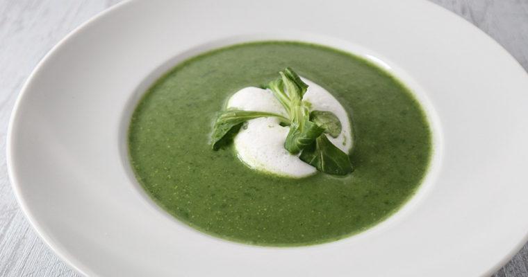 Feldsalat-Suppe