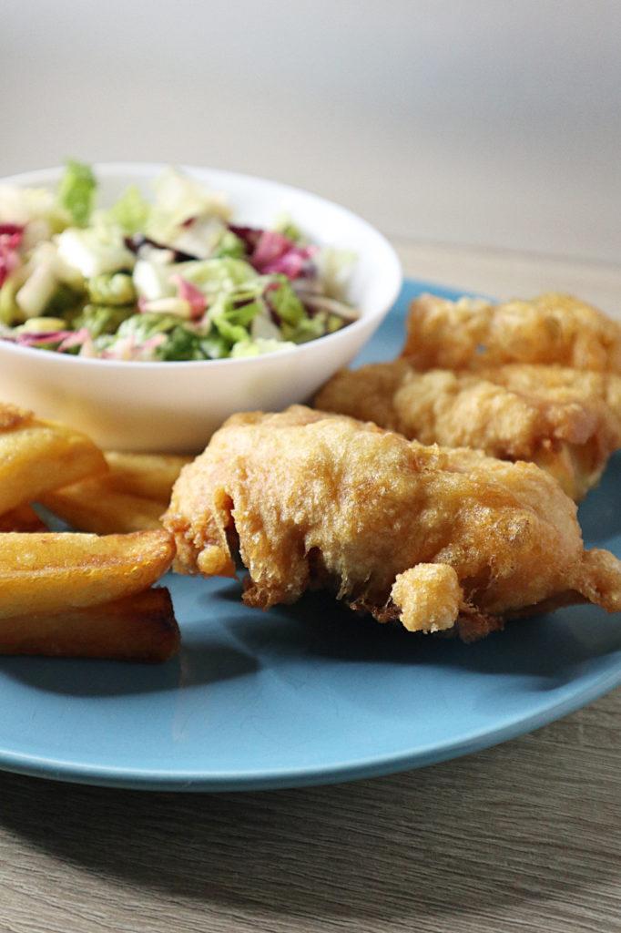 Ausgebackene Fischfilets in Bierteig (ohne Bier) schmecken lecker und können auch histamin- und fructosearm zubereitet werden. Probiert es aus!
