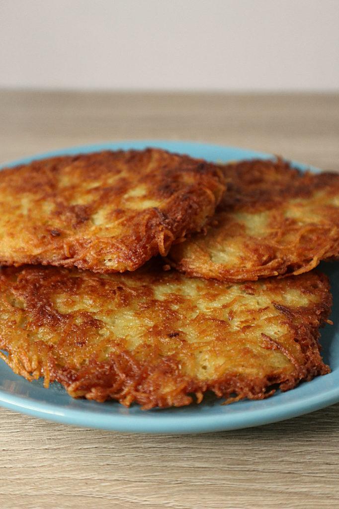 Wir im Saarland essen gerne Grumbeerkichelcha - auch Kartoffelpuffer genannt. Hier stelle ich euch mein histamin- und frustosearmes Rezept vor.