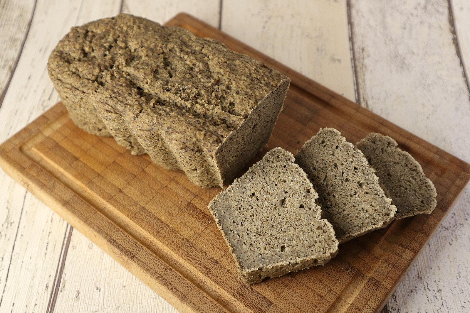 Glutenfreies Hanf-Reis-Brot