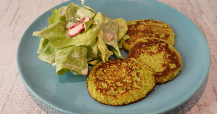 Glutenfreie Brokkoli-Pancakes