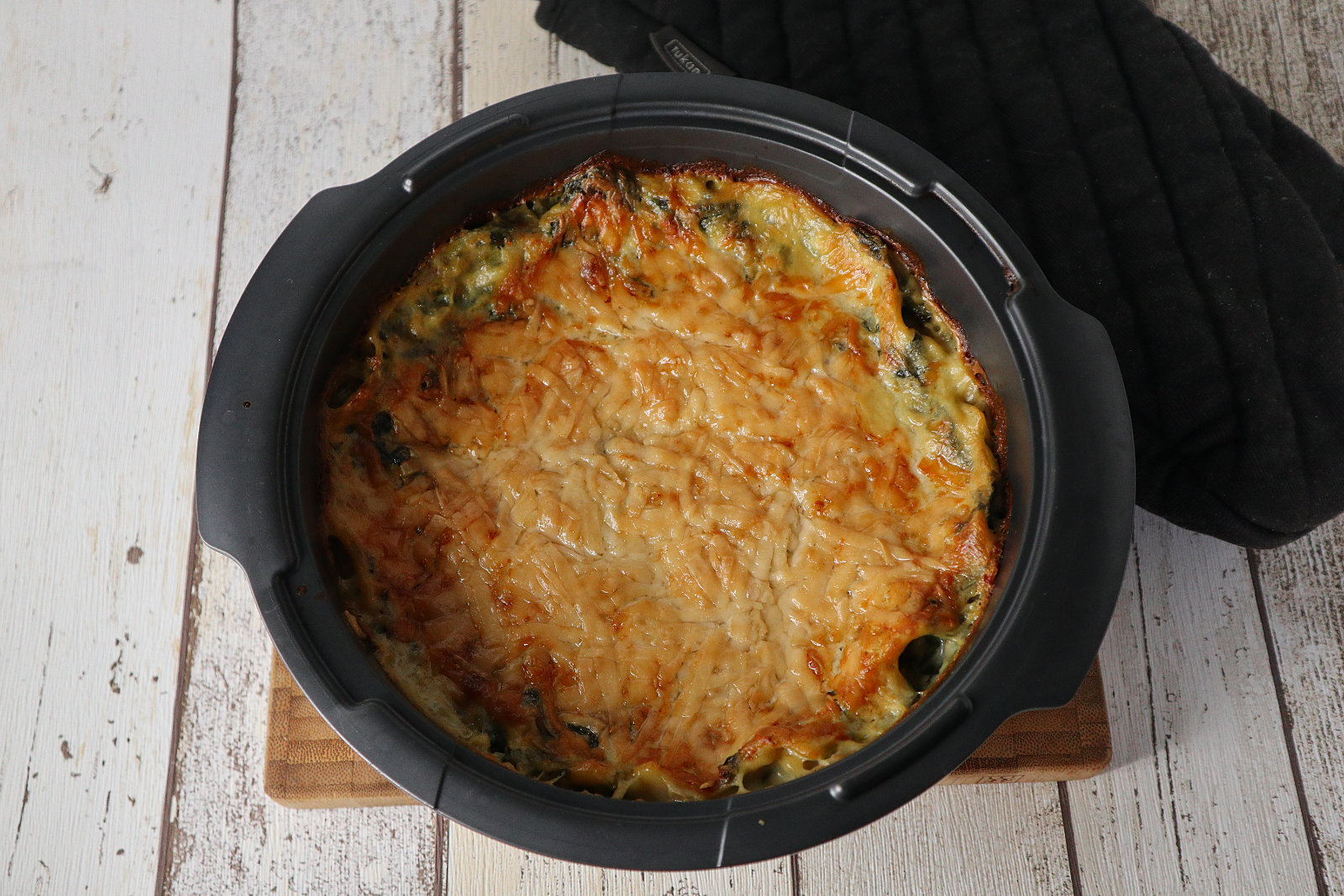 Glutenfreie Mangold-Lasagne