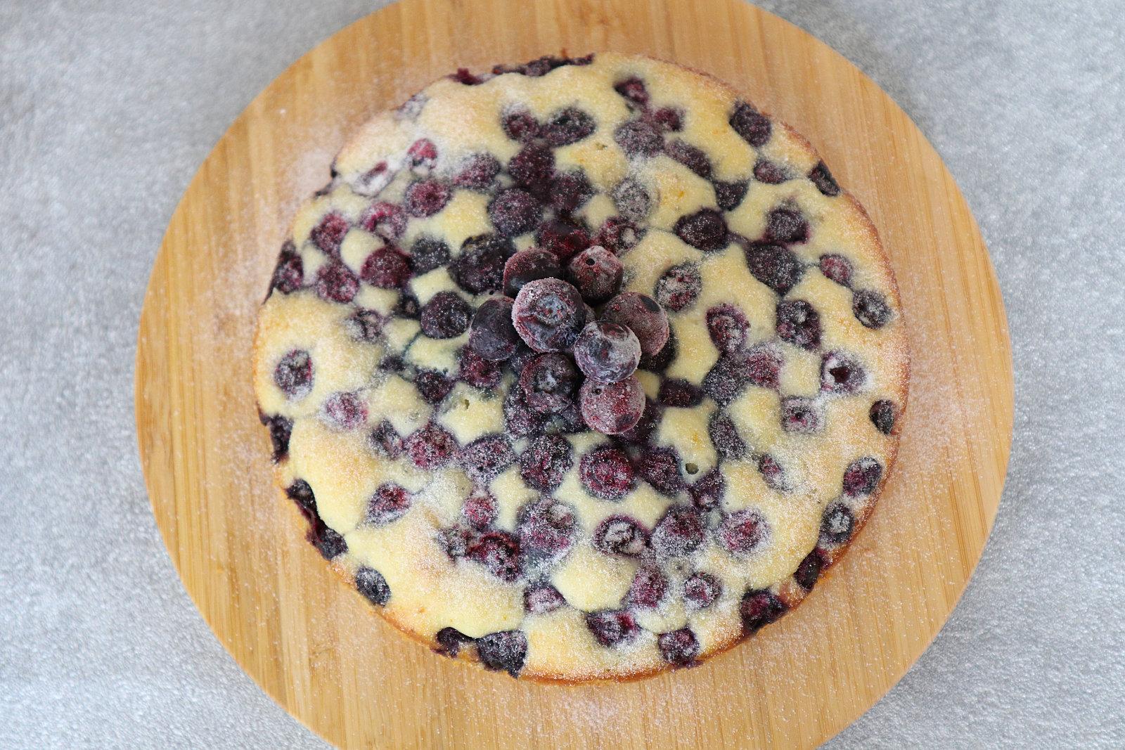 Joghurt-Blaubeer-Kuchen