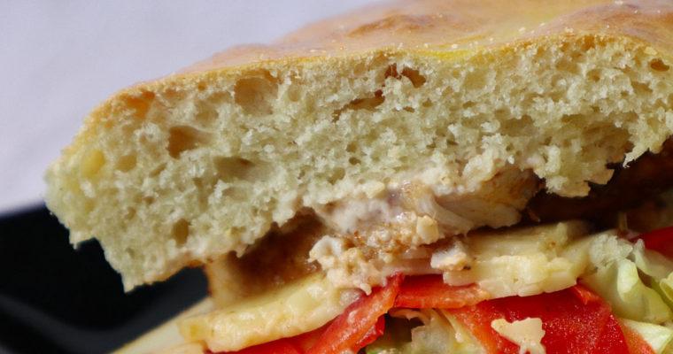 Selbst gemachte Sandwiches