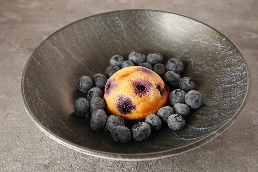 Glutenfreie Käse-Küchlein mit Blaubeeren sind einfach zu machen und so lecker! Sie sind zudem histamin- und fructosearm.