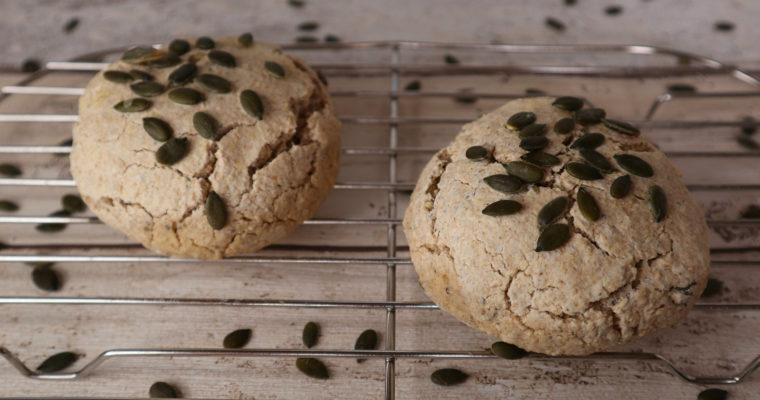 Glutenfreie Reis-Hafer-Brötchen
