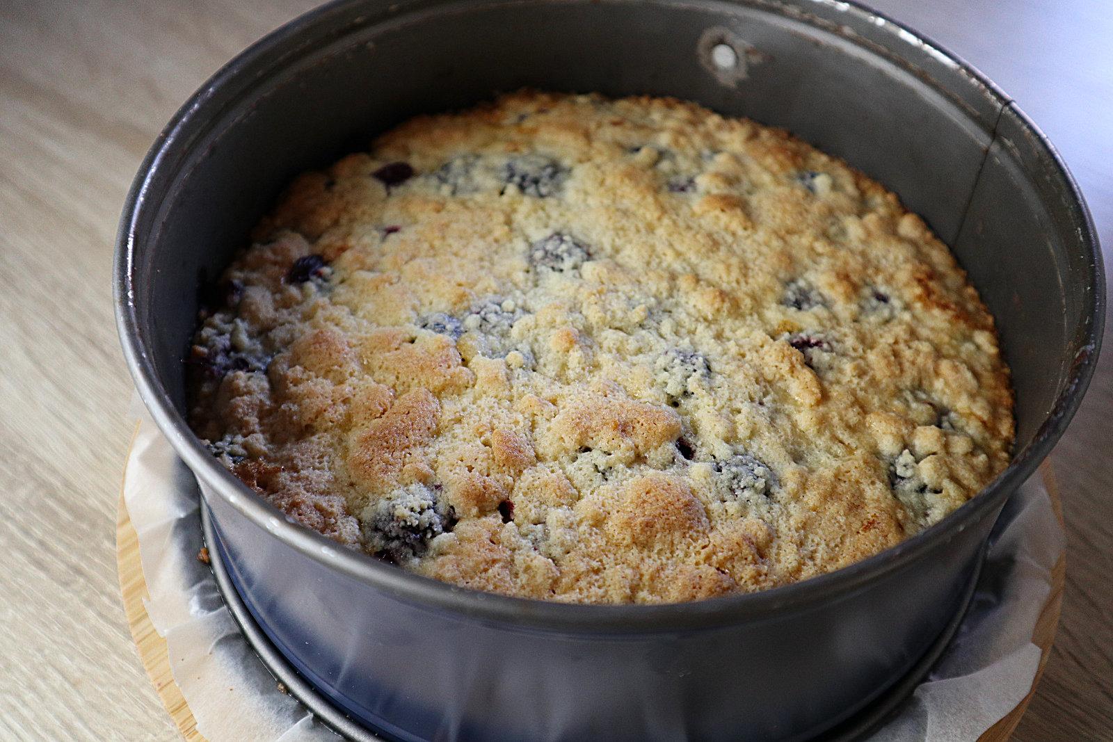 Brombeer-Streuselkuchen