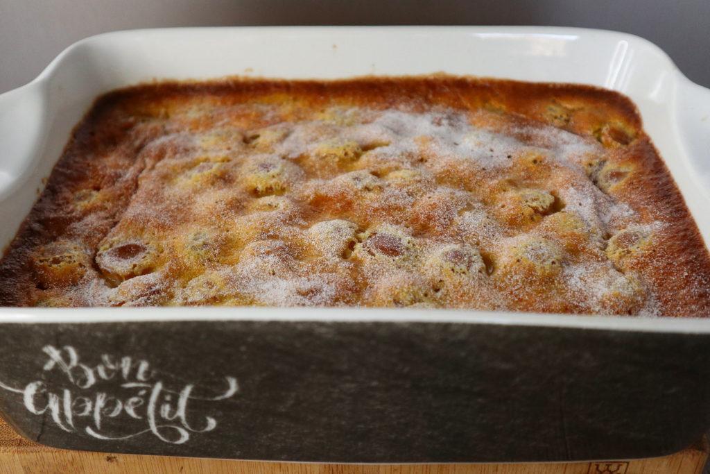 Dieser Clafoutis aux Mirabelles - ein Mirabellen-Auflauf - ist histamin- und fructosearm. Er schmeckt warm und kalt!