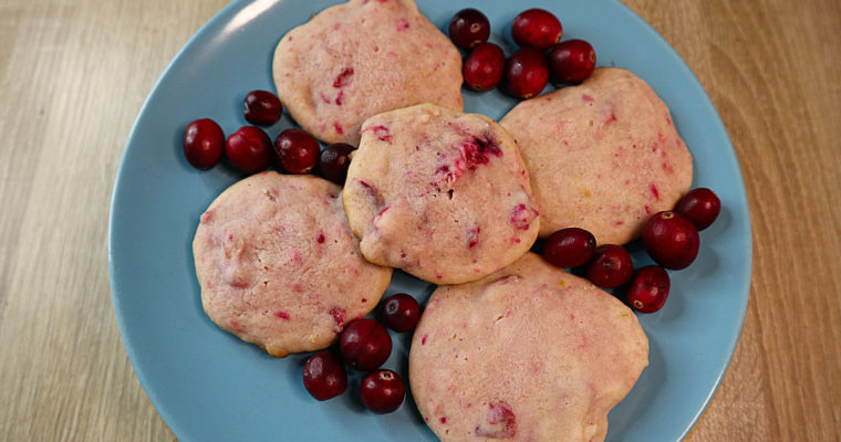 Softe Cranberry-Cookies