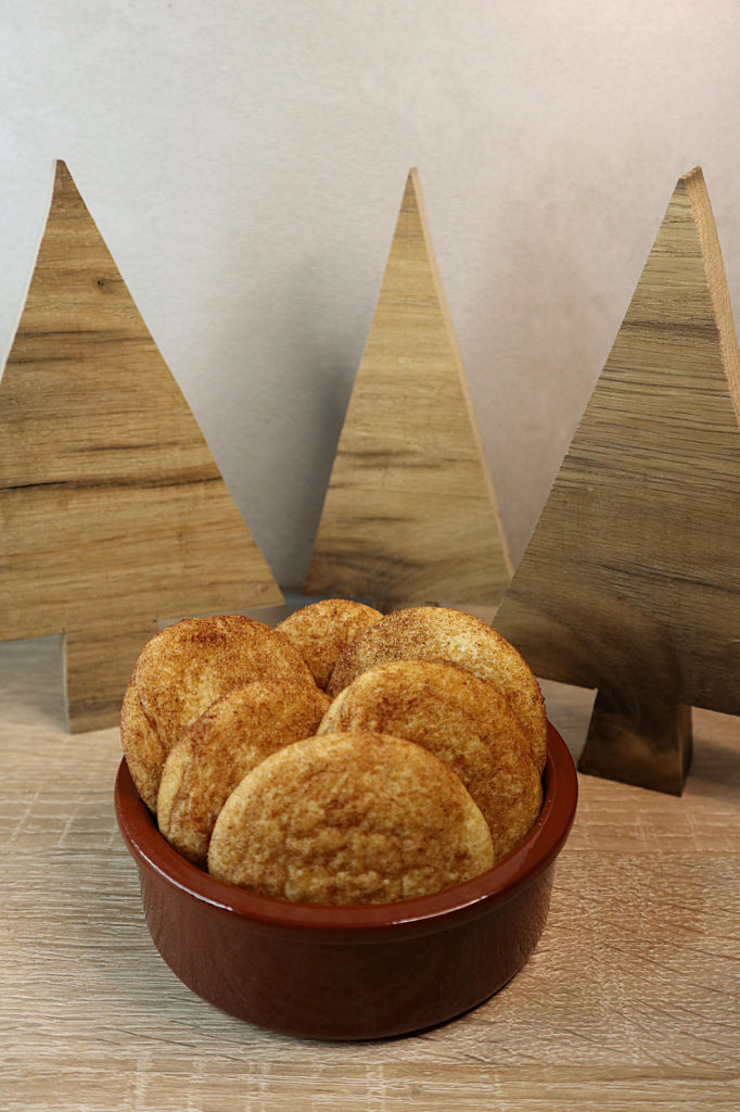 Heute möchte ich euch am Rezept für die leckeren Snickerdoodle-Cookies teilhaben lassen. Sie sind histamin- und fructosearm zubereitet.