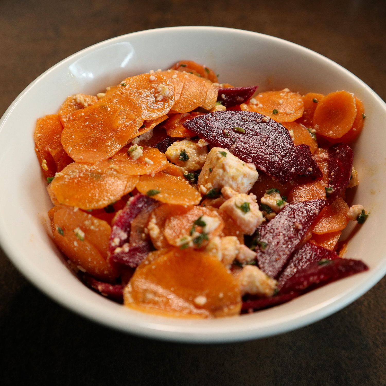 Karotten-Rote Bete-Salat